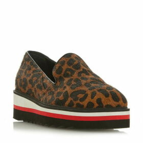 Dune Graded scallop outsole loafer shoes