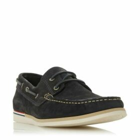 Dune Blainess Nubuck Boat Shoes