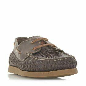 Dune Bugatti Woven Boat Shoes
