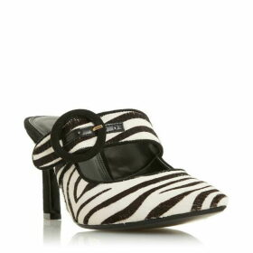 Dune Decore Round Buckle Kick Heel Shoes