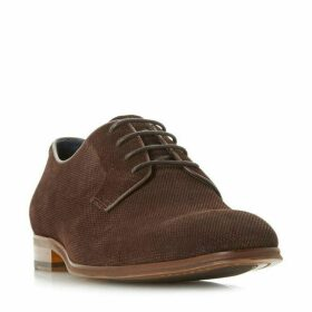 Dune Pradamel Embossed Lace Up Gibson Shoes