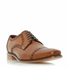 Loakes Foley brogue toecap leather gibson shoes