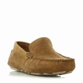 Ugg Henrick stripe leather driving shoes