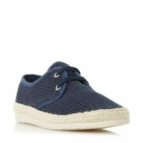 Bertie Fruit Lace Up Mesh Espadrilles