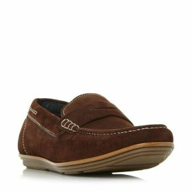 Dune Balloon Contrast Sole Loafer Shoes