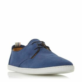Dune Bellows Perforated Casual Gibson Shoes