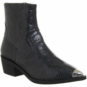 Office Acoustic Metal Toe Western Boots