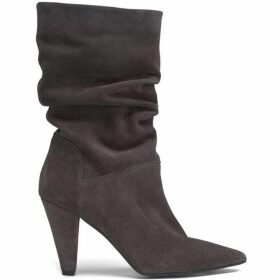 Mint Velvet Harley Grey Suede Slouchy Boot