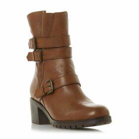 Dune Reuben Buckle Detail Boots