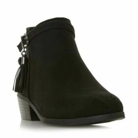 Head Over Heels Palomma Tassel Trim Ankle Boots