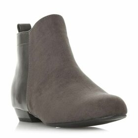 Head Over Heels Perey Mixed Upper Ankle Boots