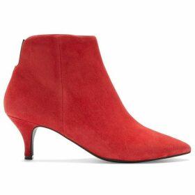 Mint Velvet Tommie Red Ankle Boot