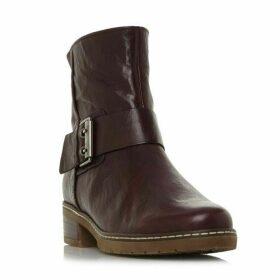 Gabor Dakota Buckle Stitch Ankle Boots