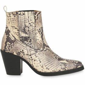 Whistles Allington Snake Western Boot