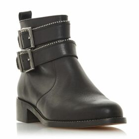 Dune Pabblo Double Buckle Ankle Boots