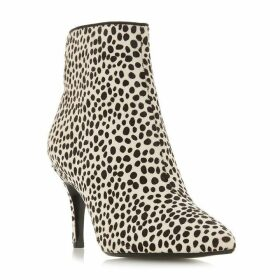 Dune Oshaa Point Mid Heel Ankle Boots