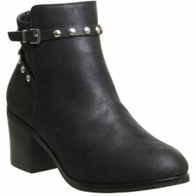Office Attract Ankle Strap Boots
