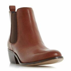 Linea Posa almond toe chelsea boots