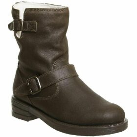 Office Auto Casual Biker Boots