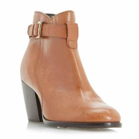 Linea Poise Strap Detail Ankle Boots