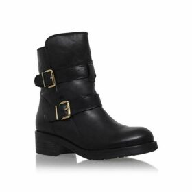 Kurt Geiger London Richmond buckle calf high boots
