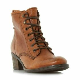 Dune Patsie D Lace Up Ankle Boots