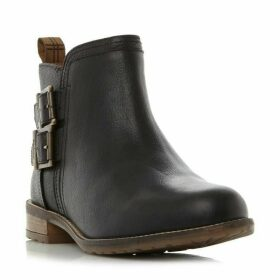 Barbour Lifestyle Sarah Low Buckle Zip Ankle High Boots