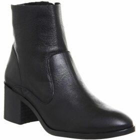 Office Albury Unlined Block Heel Boots