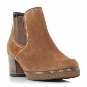 Gabor Lilia Eslastic Gusset Heeled Boots