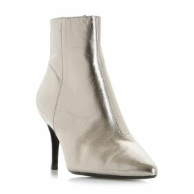 Dune Osha Clean Side Zip Point Ankle Boots