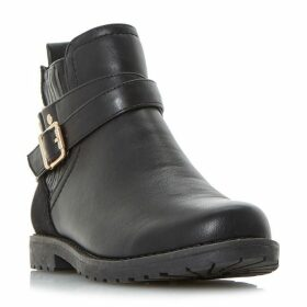 Head Over Heels Panache Strap Cleated Chelsea Boots