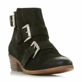 Steve Madden Straps Sm Buckle Detail Ankle Boots