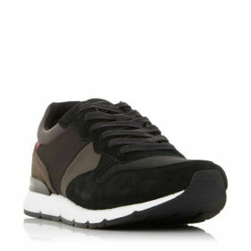 Dune Transfer Suede Retro Runner Trainers
