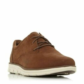 Dune A22Nh Wedge Nubuck Lace Up Trainers