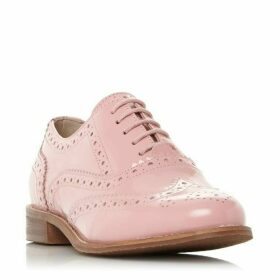 Dune Frenchie Brogue Detail Lace Up Trainers