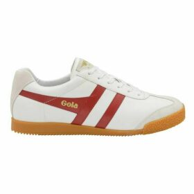 Gola Harrier Leather Mens Lace Up Trainers
