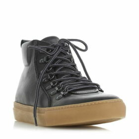 Dune Snowdon D Ring High Top Trainer