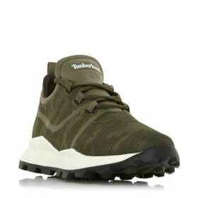 Timberland A21G3 Camo Mesh Lace Up Trainers