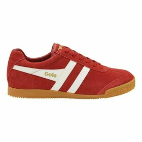 Gola Harrier Suede Lace Up Trainers