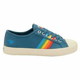 Gola Coaster Rainbow Canvas Shoes