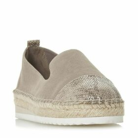 Dune Gavi Slipper Cut Espadrille Shoes