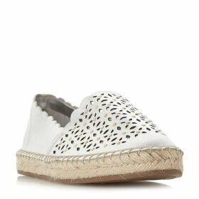 Dune Gracelynn Laser Cut Espadrille Shoes