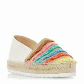 Dune Glazier Fringe Detail Espadrille Shoes