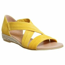 Office Hallie Cross Strap Espadrilles