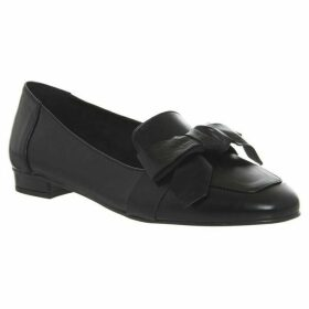 Office Friend Square Toe Bow Loafers