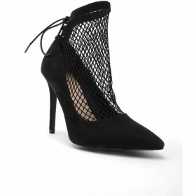 Qupid Show-19 Mesh Shoe Boot
