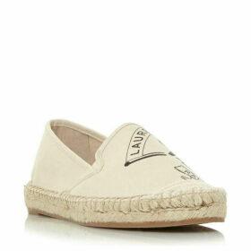Lauren Dillan Badge Espadrille Shoes