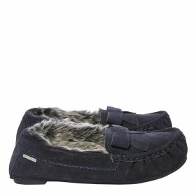 Isotoner Suede moccasin slippers