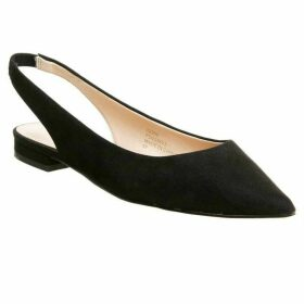 Office Fragile Point Slingback Flats