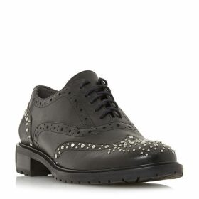 Dune Francis Studded Lace Up Brogues